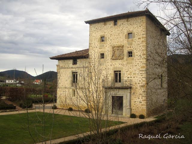Torre de Zubiete en Llanteno. Aiara. Alava