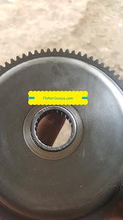 Modif bearing bambu di gear comp doble stater klx