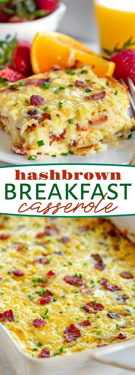 Easy Hashbrown Breakfast Casserole