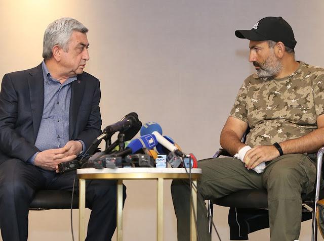 Serzh Sargsyan amenazó a Pashinyan con la matanza del 1 de marzo