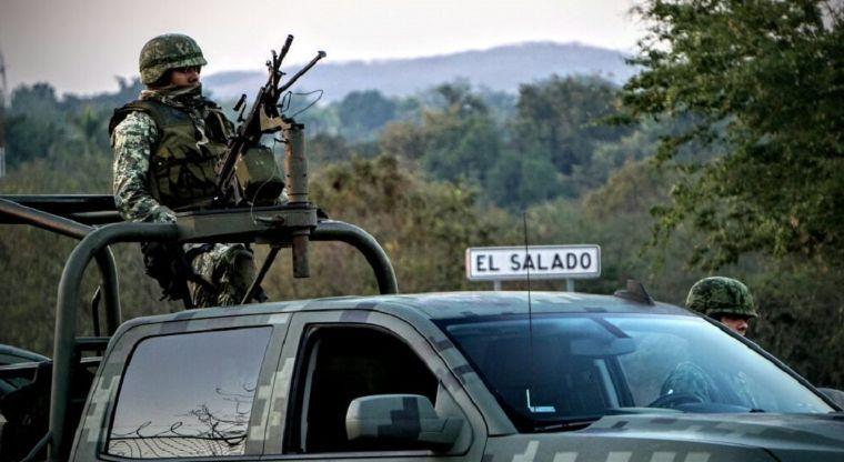 Balacera en Culiacán deja a dos militares heridos