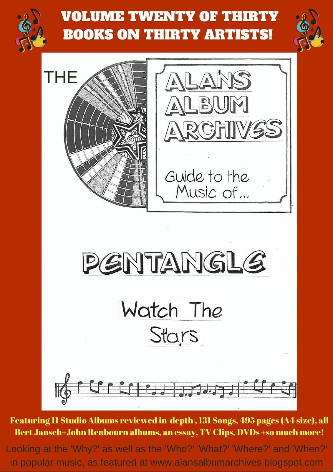 'Watch The Stars - The Alan's Album Archives Guide To The Music Of...Pentangle'