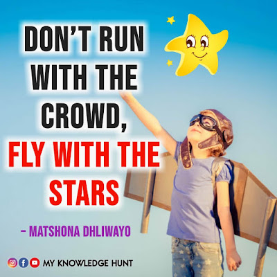 DON'T FOLLOW THE CROWD QUOTES