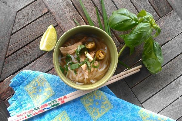 Furious Five-Spice Noodle Soup