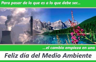 Imagen sobre el Día Mundial del Medio Ambiente