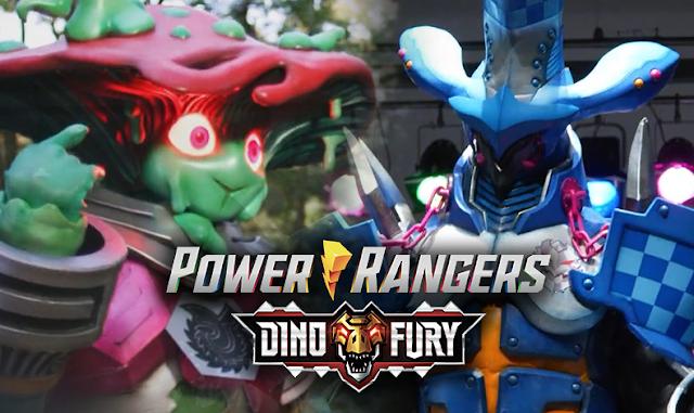 Novos vilões de Power Rangers Dino Fury são revelados em gravação da temporada