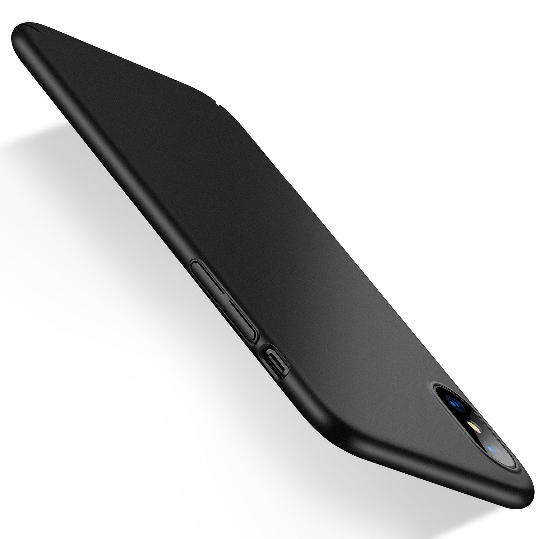 6dbb025f0ce Humixx Funda iPhone X, Funda iPhone 10, Alta Calidad Ultra Slim  Anti-Rasguño y Resistente Huellas Dactilares Totalmente Protectora Caso de  Plástico Duro ...