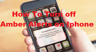How To turn off amber alerts on iphone in less than 1 minute