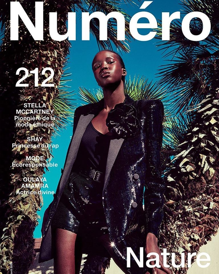 Ajok Madel for Numéro #122 April 2020