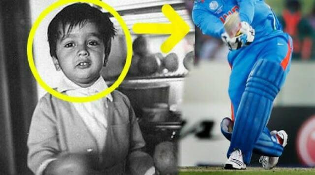 मासूम दिखने वाला ये बच्चा भारतीय टीम का है विस्फोटक बल्लेबाज़, आप बता सकते है कौन है ये?
