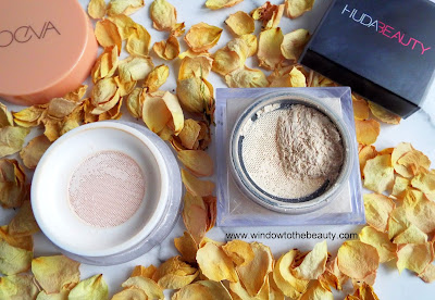 Zoeva Authentik Skin Finishing Puder Vs Huda Beauty Easy Bake Loose Puder