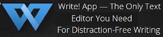 write app logo