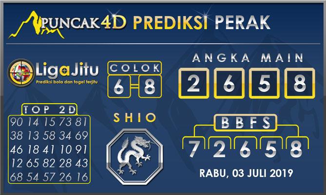 PREDIKSI TOGEL PERAK PUNCAK4D 03 JULI 2019