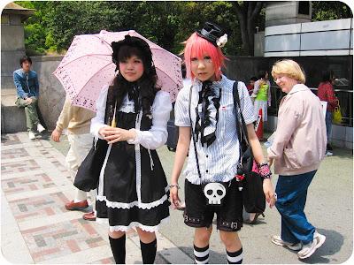 Street look japonais