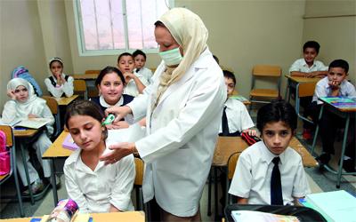 وقاية طلاب المدارس من فيرس كورونا