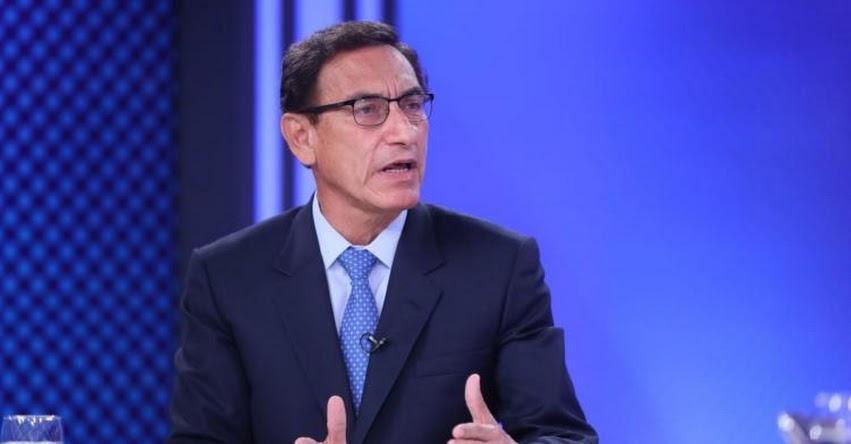 MARTÍN VIZCARRA: Expresidente confirmó postular al Congreso de la República