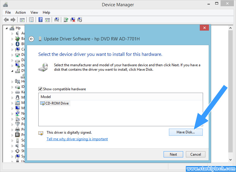 How to Manually Update Your Device Driver Step 7