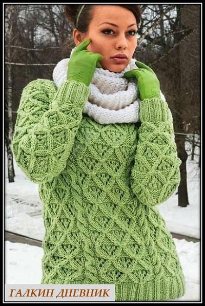 jenskii-djemper-spicami | 針織 针织 | 뜨개질을하는 | trikote | adīšana | mezgimas