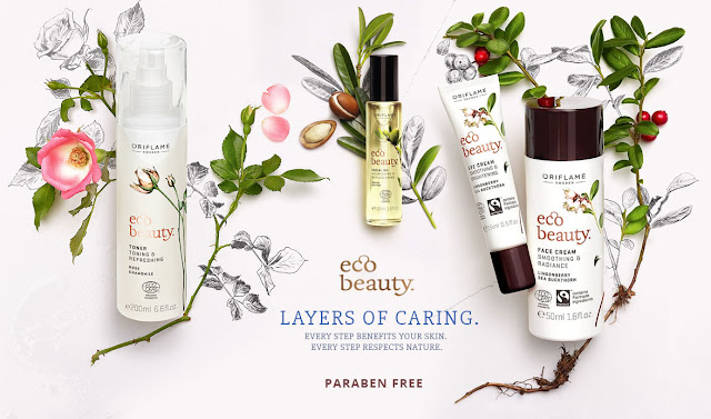 Oriflame EcoBeauty Paraben Free Cosmetics Range
