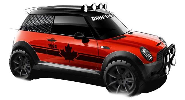 Gambar Modifikasi Motor: One-off Mini Red Mudder To Be