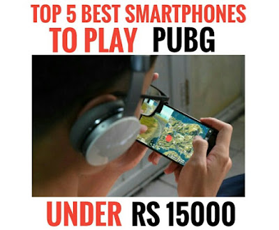 5. Honor Play    4. Asus Zenfone Max Pro M2    3. Vivo V9 Pro    2. Realme 3 Pro    1. Redmi Note 7 Pro, these are the top 5 smartphones to play PUBG under Rs 15000