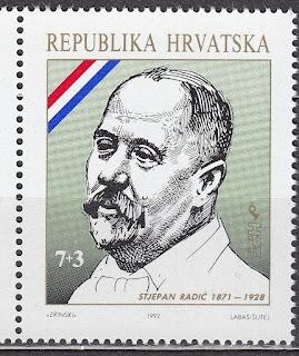 Croatia 1992 Stjepan Radić