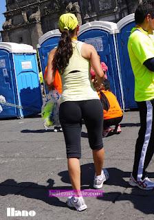 Sexy chica mexicana shorts entallados