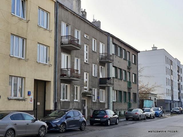 Warszawa Warsaw Kamionek Praga Południe kamienice lata 30 ulice warszawskie architektura architecture detal