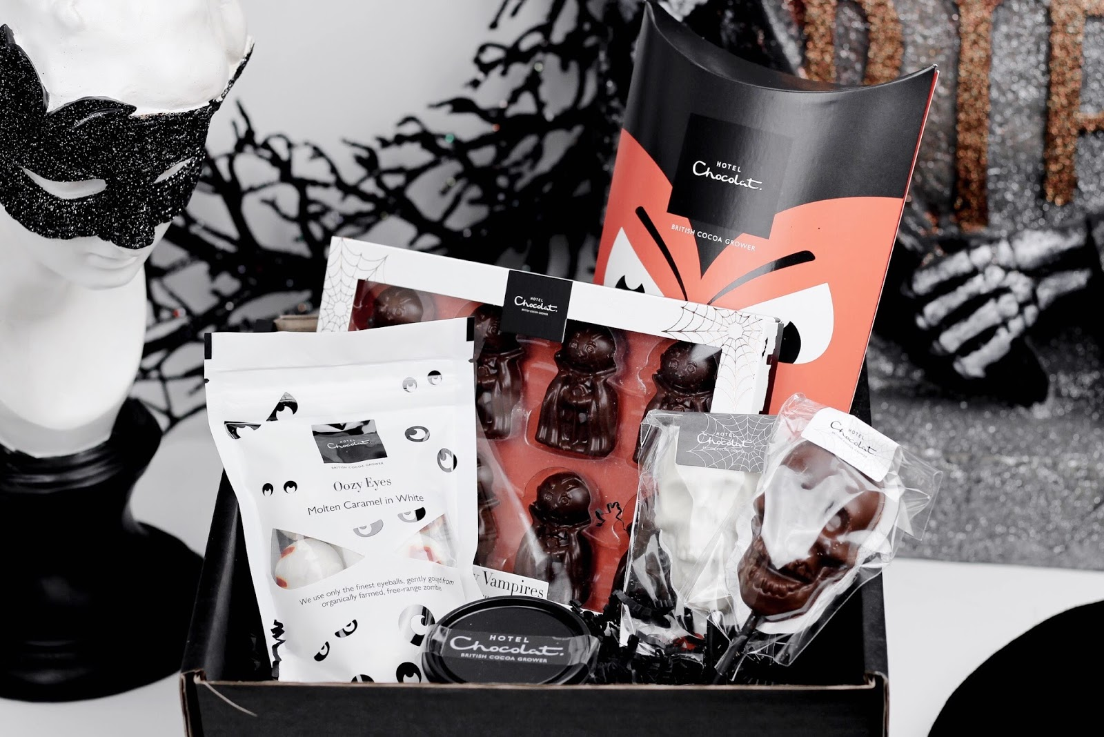 Hotel Chocolat Halloween Hamper Worldwide Giveaway