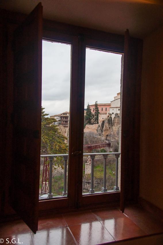 Ventana de la Habitación del Parador de Cuenca