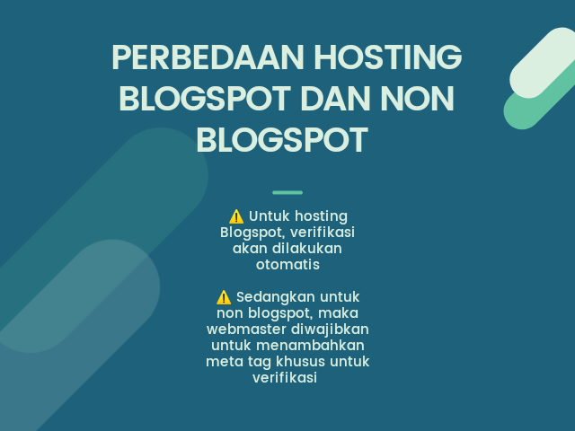 perbedaan hosting blogspot dengan non blogspot