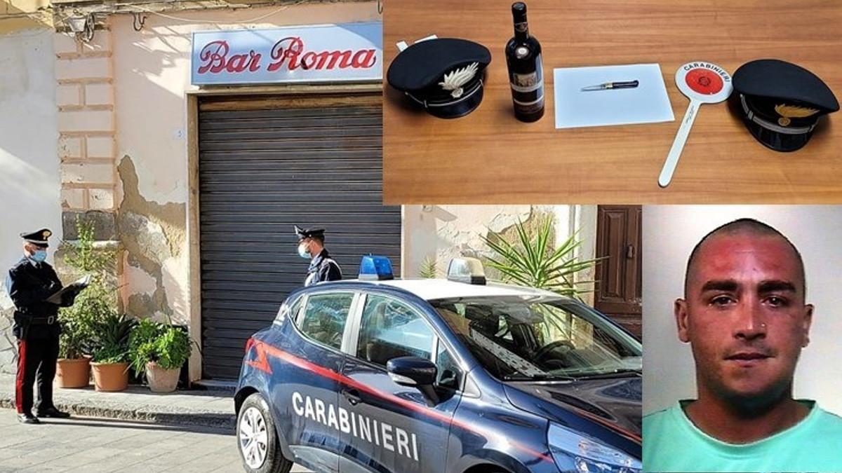 arresto rapinatore Palagonia