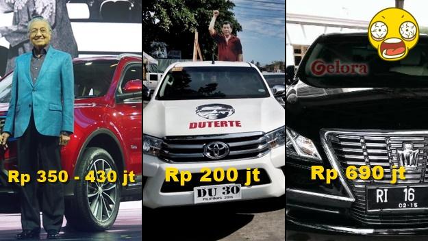 Mobil Dinas Menteri: Malaysia Pakai Proton dan Filipina Avanza, Indonesia Paling Mahal