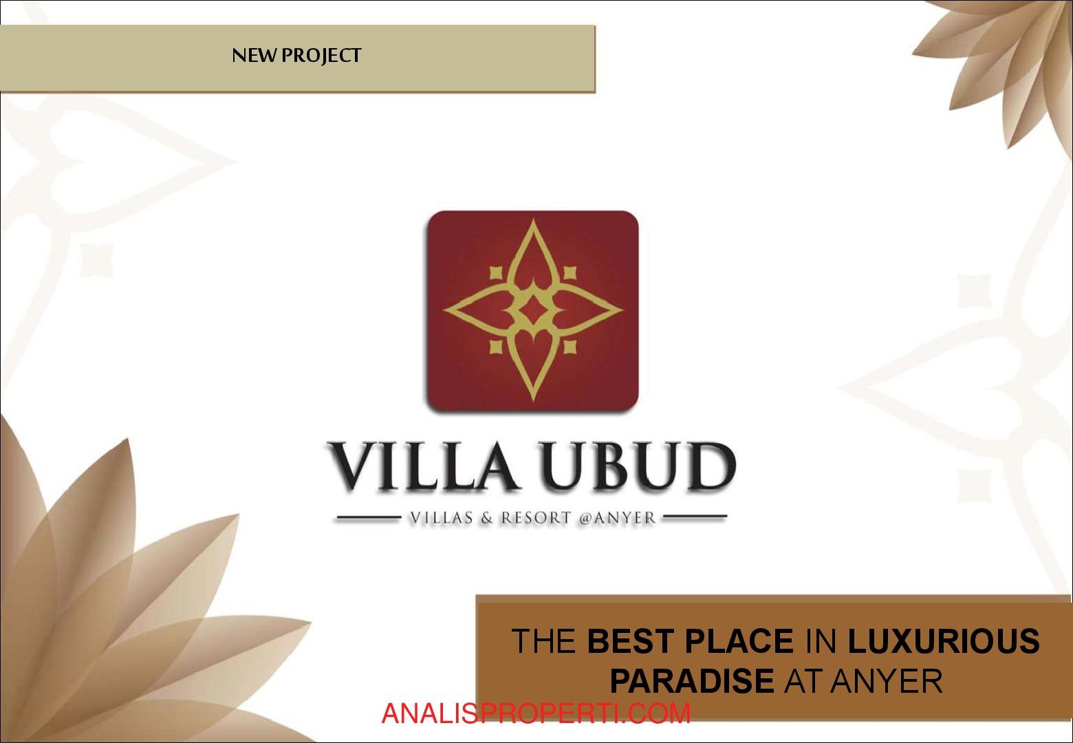 Villa Ubud Anyer Nuansa Resort Nusa Dua Bali Analis Properti