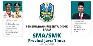 PPDB Online SMA/SMK Prov Jatim