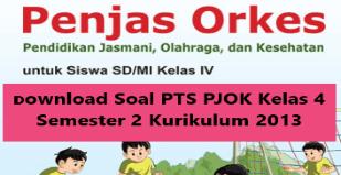 Download Soal PTS PJOK Kelas 4 Semester 2