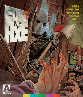 Cover art for Arrow Video's EDGE OF THE AXE Blu-ray!