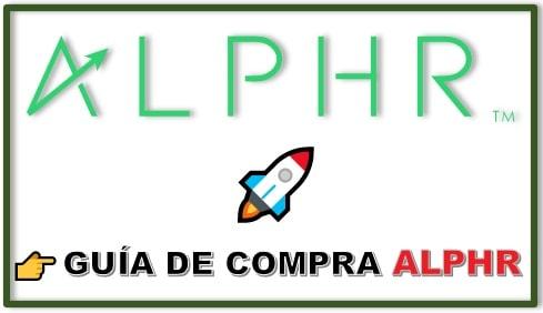Cómo y Dónde Comprar Criptomoneda ALPHR FINANCE (ALPHR) Tutorial