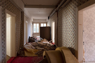 The Hotel Kulm was left to decay after Maharishi Mahesh Yogi moved out.