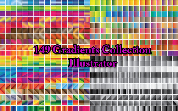 Gradients 149 Collections for illustrator