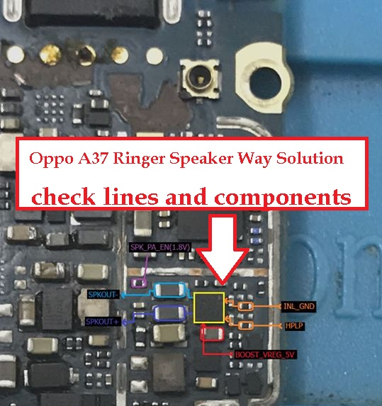 3 Step Repair Solution For Oppo A37 No Ringer