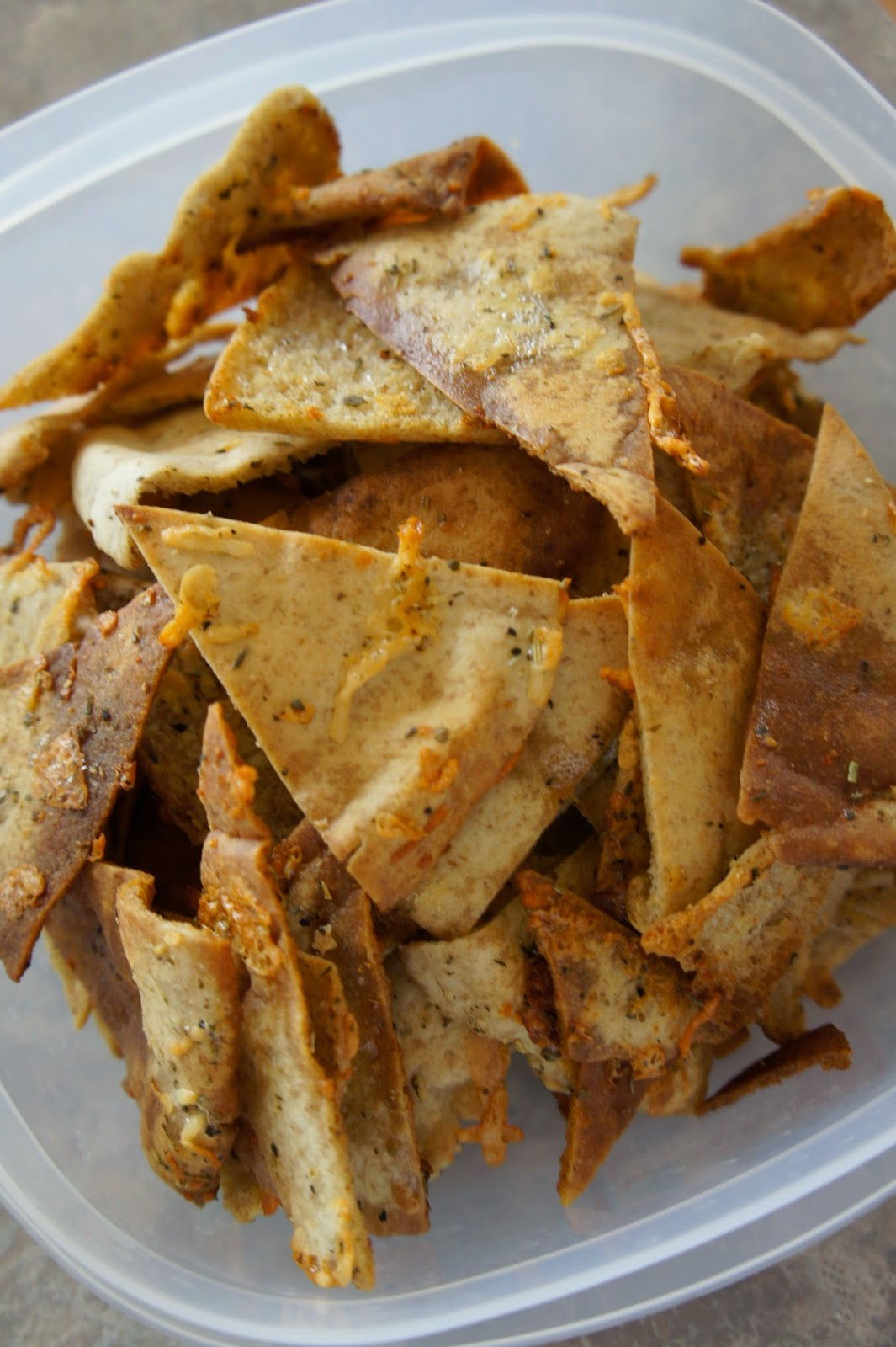 Homemade Seasoned Pita Chips: Savory Sweet and Satisfying