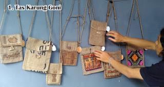Tas Karung Goni bisa menjadi pengganti kantong plastik