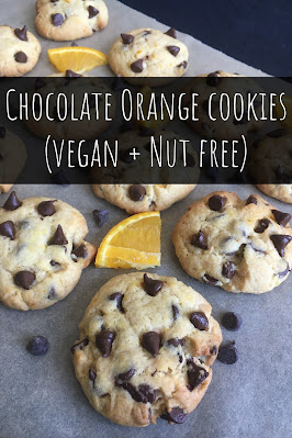 Chocolate Orange Cookies (Vegan + Nut Free)