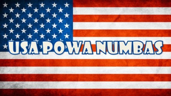 USA Powa Ball - Powa Numbas - Power Ball - Lucky Numbers - Hollywoodbets - Payouts - Odds - Results