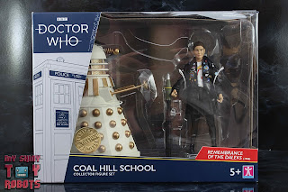 Doctor Who Coal Hill School Set Box 01