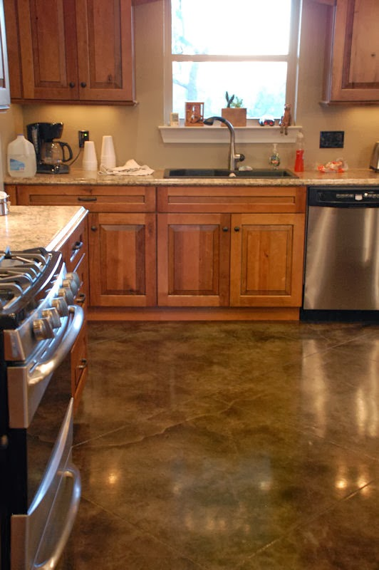 New Kitchen Island Cost Concrete Staining Doctor