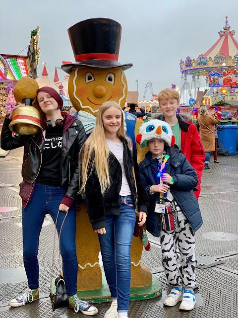 madmumof7 children at Hyde Park Winter Wonderland