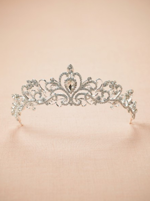 Gilberte Crystal Bridal Tiara