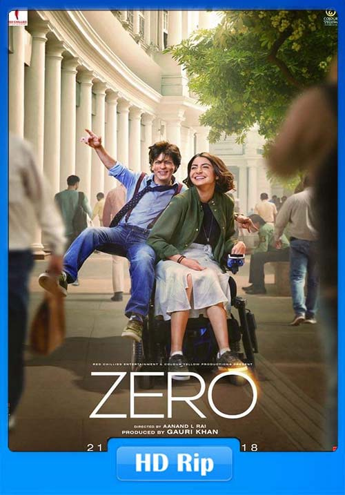 Zero 2018 Hindi 720p HDRip x264 | 480p 300MB | 100MB HEVC